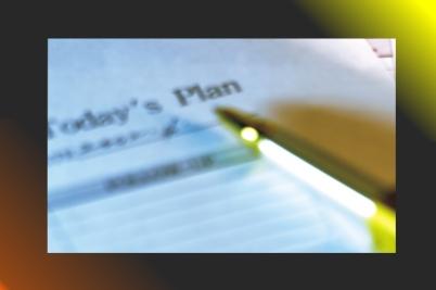 Organizar las tareas diarias