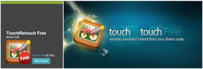 TouchRetouch Free [Pantalla de descarga]