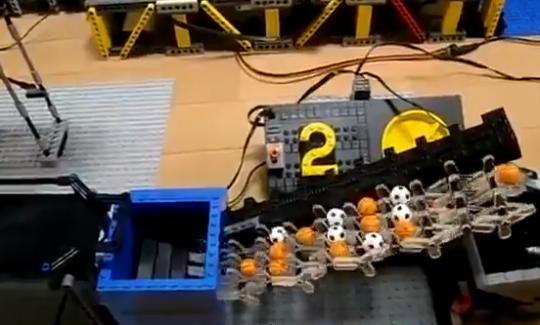 Máquina de Rube Goldberg [Lego 3]