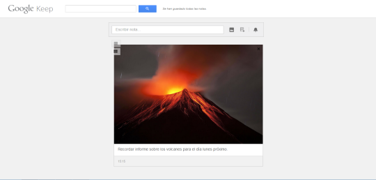 Google Keep [Ejemplo]