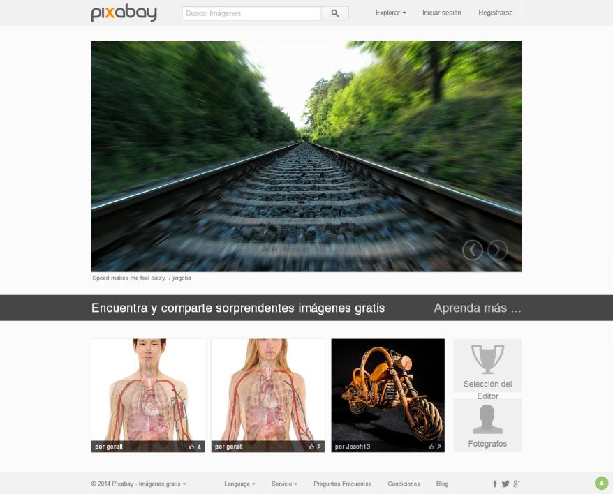 Pixabay [Pantalla principal]