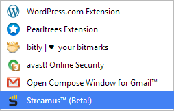 Streamus [Ejecución de la aplicación]
