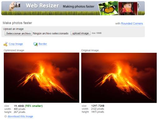WebResizer [Imagen optimizada]
